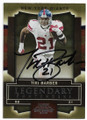 TIKI BARBER NEW YORK GIANTS AUTOGRAPHED FOOTBALL CARD #80519C