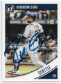 ROBINSON CANO SEATTLE MARINERS AUTOGRAPHED BASEBALL CARD #80519D