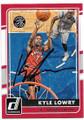 KYLE LOWRY TORONTO RAPTORS AUTOGRAPHED BASKETBALL CARD #80719A
