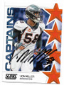 VON MILLER DENVER BRONCOS AUTOGRAPHED FOOTBALL CARD #80719D