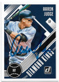 AARON JUDGE NEW YORK YANKEES AUTOGRAPHED BASEBALL CARD #81219A