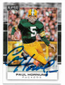 PAUL HORNUNG GREEN BAY PACKERS AUTOGRAPHED FOOTBALL CARD #91019A