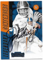 JOHN ELWAY DENVER BRONCOS AUTOGRAPHED FOOTBALL CARD #91019C