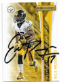 ELI ROGERS PITTSBURGH STEELERS AUTOGRAPHED FOOTBALL CARD #91619B