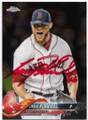 CRAIG KIMBREL BOSTON RED SOX AUTOGRAPHED BASEBALL CARD #91619C