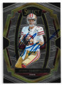 JIMMY GAROPPOLO SAN FRANCISCO 49ers AUTOGRAPHED FOOTBALL CARD #111219A