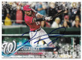 VICTOR ROBLES WASHINGTON NATIONALS AUTOGRAPHED ROOKIE BASEBALL CARD #111319E