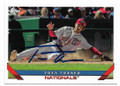 TREA TURNER WASHINGTON NATIONALS AUTOGRAPHED BASEBALL CARD #111319F