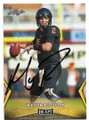 MASON RUDOLPH OKLAHOMA STATE COWBOYS-PITTSBURGH STEELERS AUTOGRAPHED ROOKIE FOOTBALL CARD #111519A