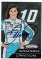 DANICA PATRICK AUTOGRAPHED NASCAR CARD #111519G