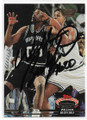 WILLIAM BEDFORD SAN ANTONIO SPURS AUTOGRAPHED BASKETBALL CARD #111919B