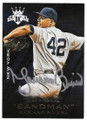 MARIANO RIVERA NEW YORK YANKEES AUTOGRAPHED BASEBALL CARD #111919C