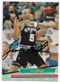SAM MACK SAN ANTONIO SPURS AUTOGRAPHED ROOKIE BASKETBALL CARD #111919E