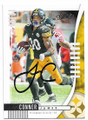 JAMES CONNER PITTSBURGH STEELERS AUTOGRAPHED FOOTBALL CARD #111919F
