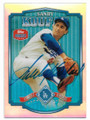 SANDY KOUFAX LOS ANGELES DODGERS AUTOGRAPHED BASEBALL CARD #112119C