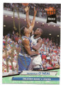 SHAQUILLE O'NEAL ORLANDO MAGIC AUTOGRAPHED ROOKIE BASKETBALL CARD #112219D
