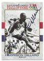 HARRISON DILLARD AUTOGRAPHED OLYMPICS TRACK & FIELD CARD #120119B