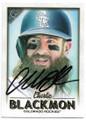 CHARLIE BLACKMON COLORADO ROCKIES AUTOGRAPHED BASEBALL CARD #120219C