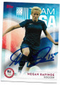 MEGAN RAPINOE USA WOMENS OLYMPIC SOCCER TEAM AUTOGRAPHED OLYMPIC SOCCER CARD #120619A
