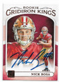 NICK BOSA SAN FRANCISCO 49ers AUTOGRAPHED ROOKIE FOOTBALL CARD #120619B