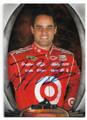 JUAN PABLO MONTOYA AUTOGRAPHED NASCAR CARD #120719A