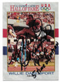 WILLIE DAVENPORT TRACK & FIELD AUTOGRAPHED OLYMPICS CARD #120719C
