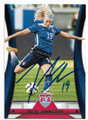 JULIE JOHNSTON U.S. WORLD CUP AUTOGRAPHED SOCCER CARD #120919B