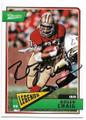 ROGER CRAIG SAN FRANCISCO 49ers AUTOGRAPHED FOOTBALL CARD #120919c