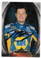 MARTIN TRUEX JR AUTOGRAPHED NASCAR CARD #121019B