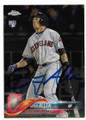 GREG ALLEN CLEVELAND INDIANS AUTOGRAPHED ROOKIE BASEBALL CARD #121219C