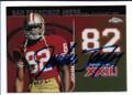 JOHN TAYLOR SAN FRANCISCO 49ers AUTOGRAPHED FOOTBALL CARD #10720A
