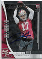 JALEN HURD SAN FRANCISCO 49ers AUTOGRAPHED ROOKIE FOOTBALL CARD #11520C