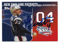 ADAM VINATIERI NEW ENGLAND PATRIOTS AUTOGRAPHED FOOTBALL CARD #11720A