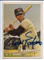 ANDRE RODGERS NEW YORK GIANTS AUTOGRAPHED VINTAGE BASEBALL CARD #11920B