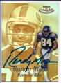 RANDY MOSS MINNESOTA VIIKINGS AUTOGRAPHED FOOTBALL CARD #11920C
