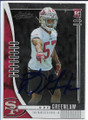 DRE GREENLAW SAN FRANCISCO 49ers AUTOGRAPHED ROOKIE FOOTBALL CARD #12120B