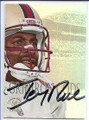 JERRY RICE SAN FRANCISCO 49ers AUTOGRAPHED FOOTBALL CARD #12120C