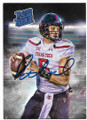 PATRICK MAHOMES KANSAS CITY CHIEFS AUTOGRAPHED ROOKIE FOOTBALL CARD #12720B