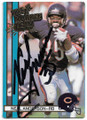 NEAL ANDERSON CHICAGO BEARS AUTOGRAPHED VINTAGE FOOTBALL CARD #12820D