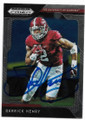 DERRICK HENRY UNIVERSITY OF ALABAMA CRIMSON TIDE AUTOGRAPHED FOOTBALL CARD #13020C