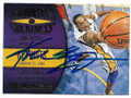 KOBE BRYANT LOS ANGELES LAKERS AUTOGRAPHED BASKETBALL CARD #13020D