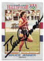 BRUCE JENNER AUTOGRAPHED OLYMPICS CARD #20820B