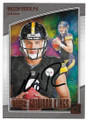 MASON RUDOLPH PITTSBURGH STEELERS AUTOGRAPHED ROOKIE FOOTBALL CARD #22520D