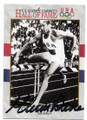 GLENN ASHBY DAVIS MEN'S ATHLETICS AUTOGRAPHED OLYMPICS CARD #22620D