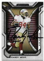 RANDY MOSS SAN FRANCISCO 49ers AUTOGRAPHED FOOTBALL CARD #22720A