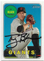 TY BLACH SAN FRANCISCO 49ers AUTOGRAPHED BASEBALL CARD #22720B