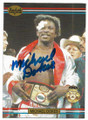 MICHAEL DOKES AUTOGRAPHED BOXING CARD #30120A