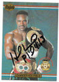 EVANDER HOLYFIELD AUTOGRAPHED BOXING CARD #30120E
