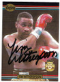 TIM WITHERSPOON AUTOGRAPHED BOXING CARD #30320B
