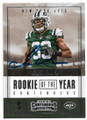 JAMAL ADAMS NEW YORK JETS AUTOGRAPHED ROOKIE FOOTBALL CARD #30320C